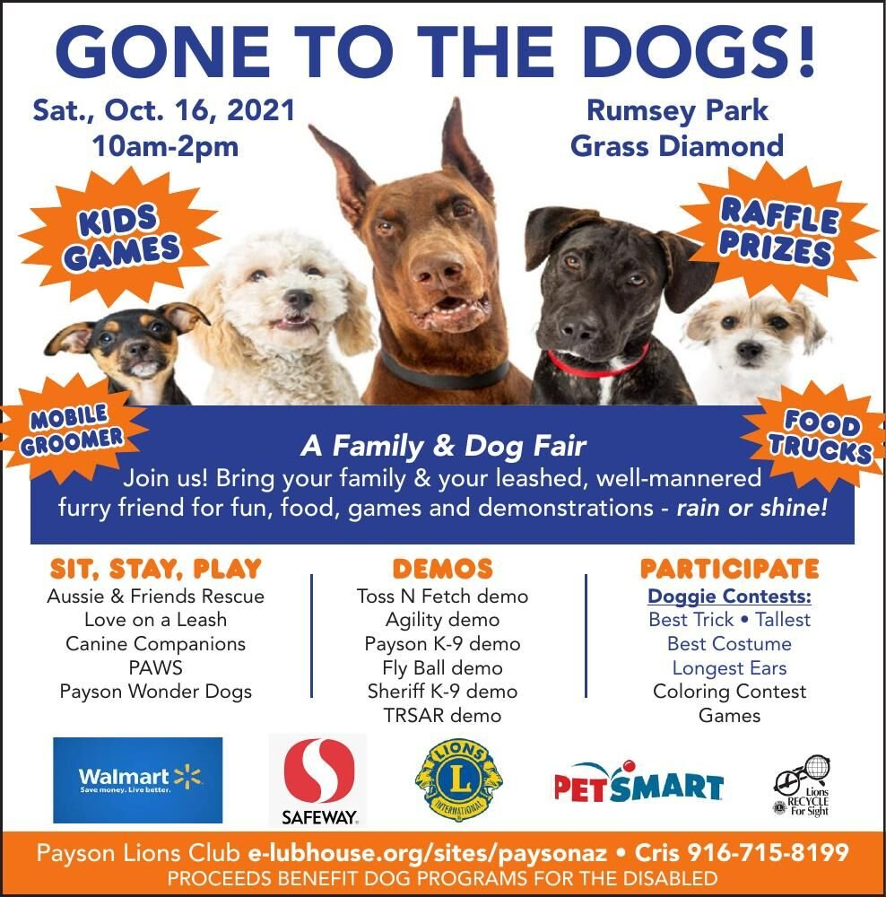 Gone to the Dogs - Family & Dog Fair