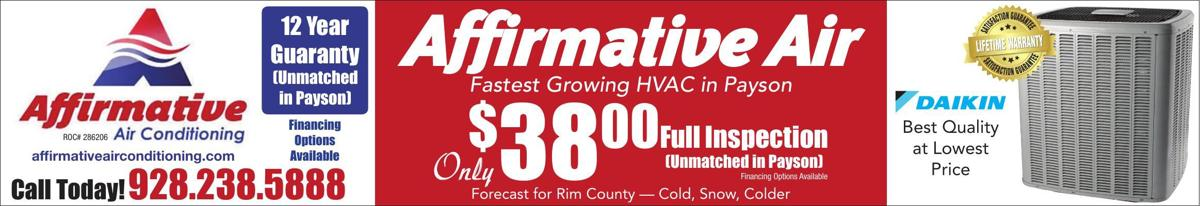 Affirmative Heating & Cooling front strip