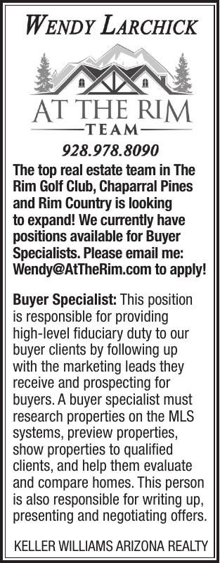 Buyer Specialist Wanted