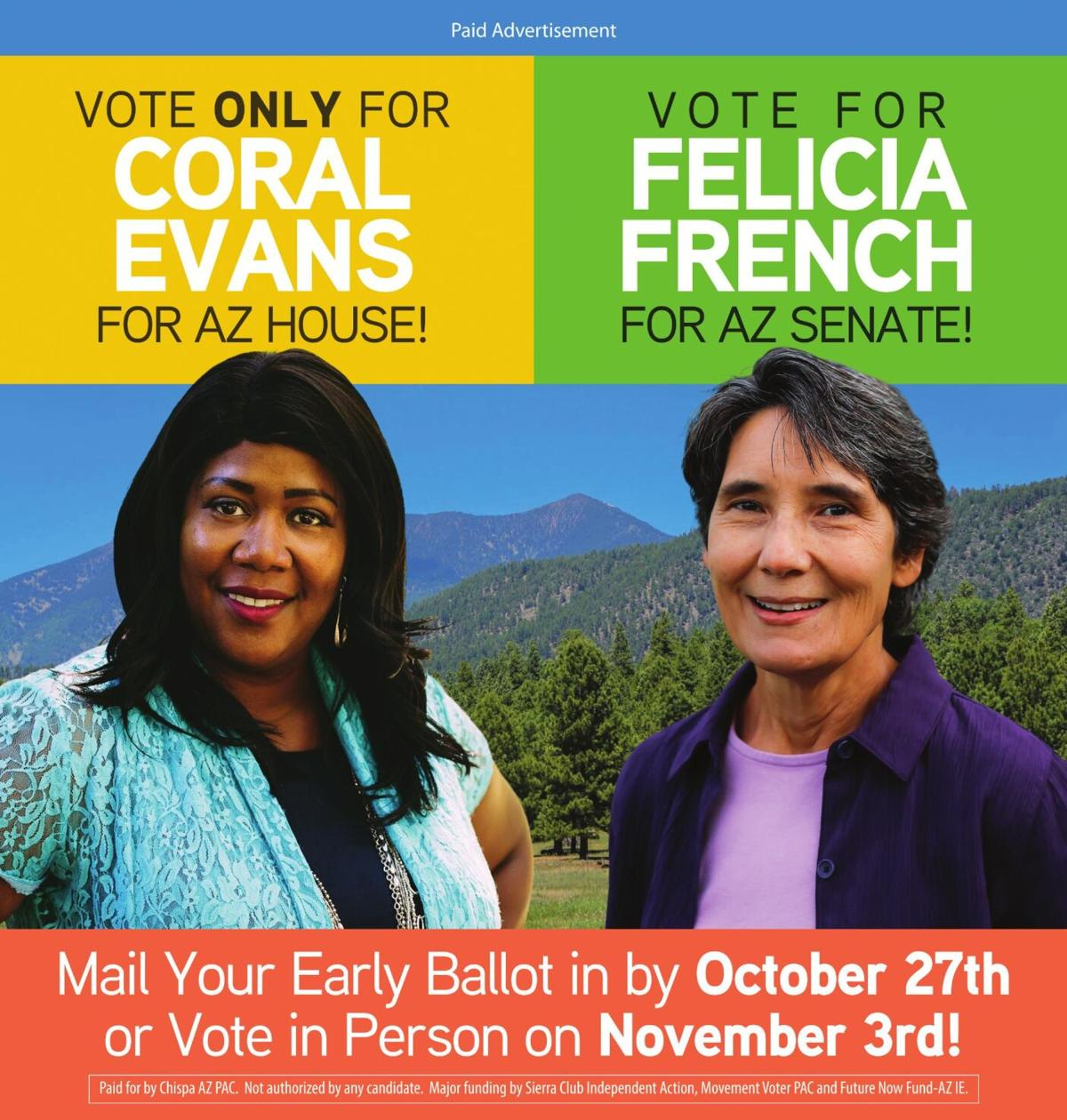 Evans for AZ House - French for AZ Senate