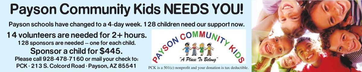Payson Community Kids Needs You