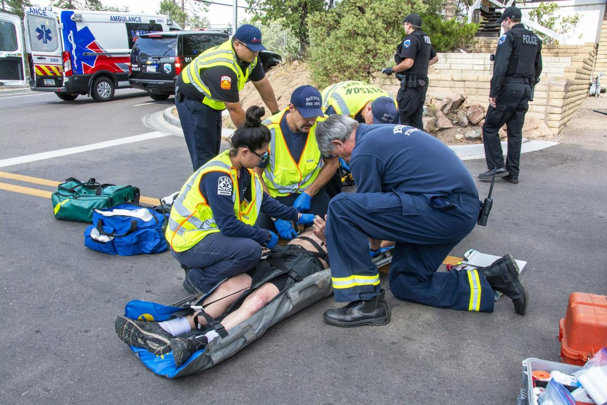 Bicycle accident 072519