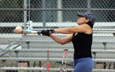 Co-Ed Softball Practice R & H Boulders Connection