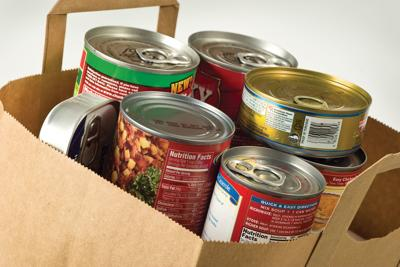 Area food bank misses goal by small margin