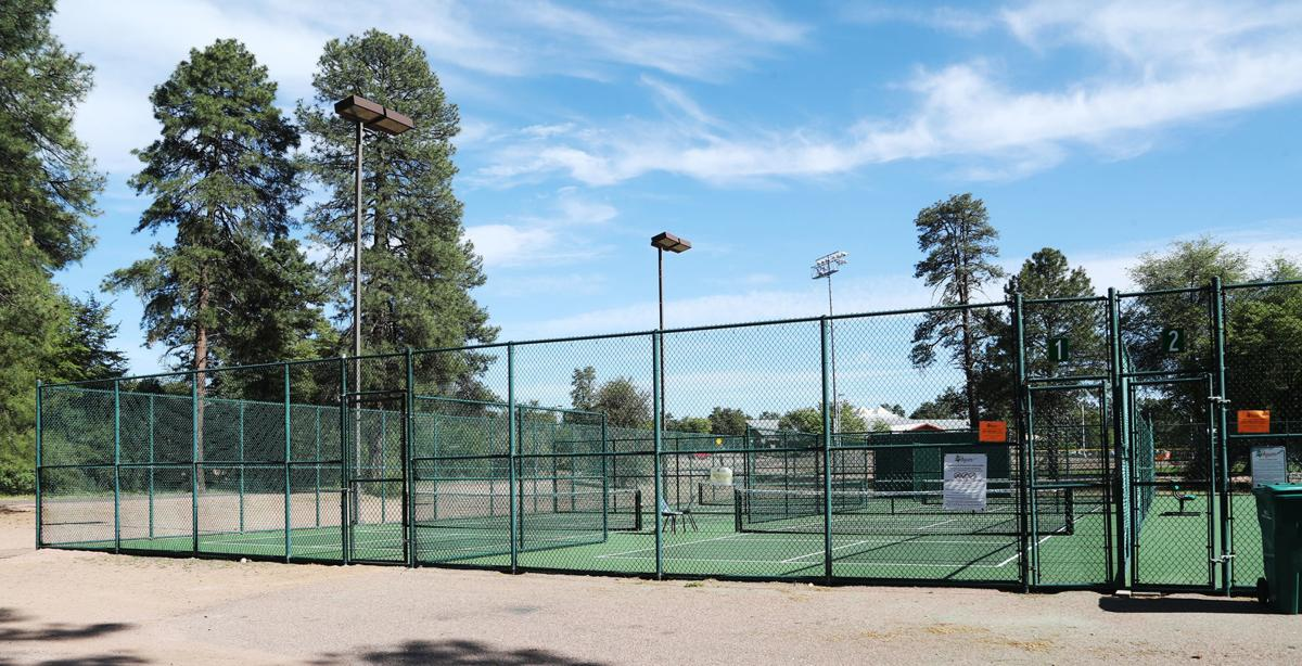 Four New Pickleball Courts