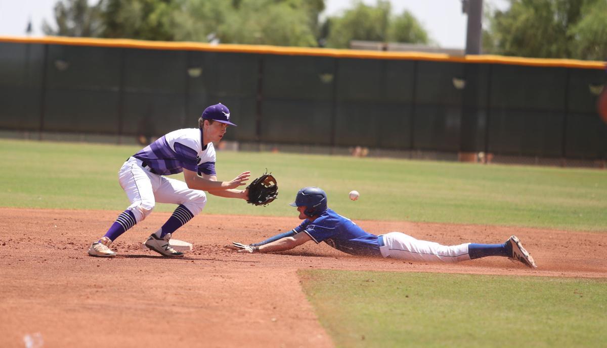 Baseball Win Vs. Snowflake 2 Tate Steal C72 A95I0015
