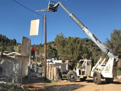 payson water company putting in tanks