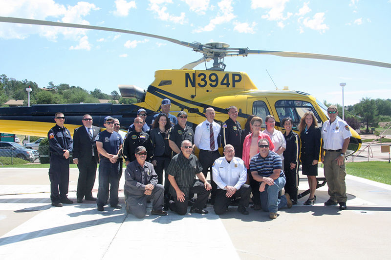 PHI Air Medical Flying High After First Year In Payson