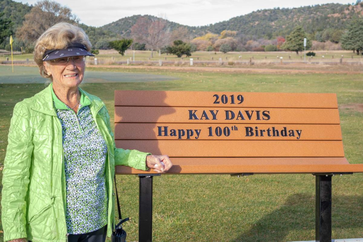 Kay Davis And Bench by Alice Wrobley