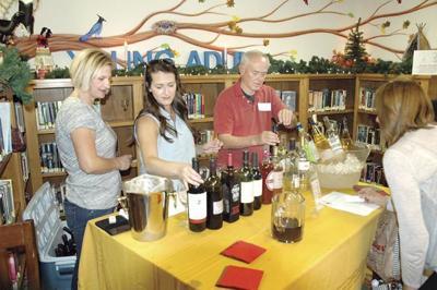 wine in pine