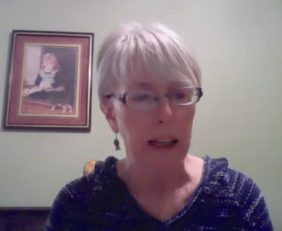 Joanne Conlin via zoom at the nov. 12 town of payson council meeting
