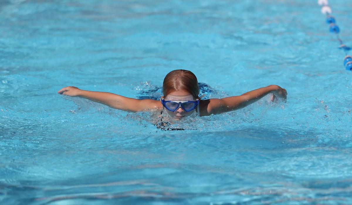 Swim Practice Butterfly 2