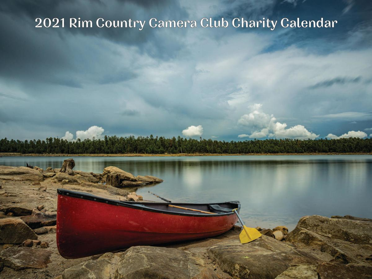 Cover of the 2021 Rim Country Camera Club calendar