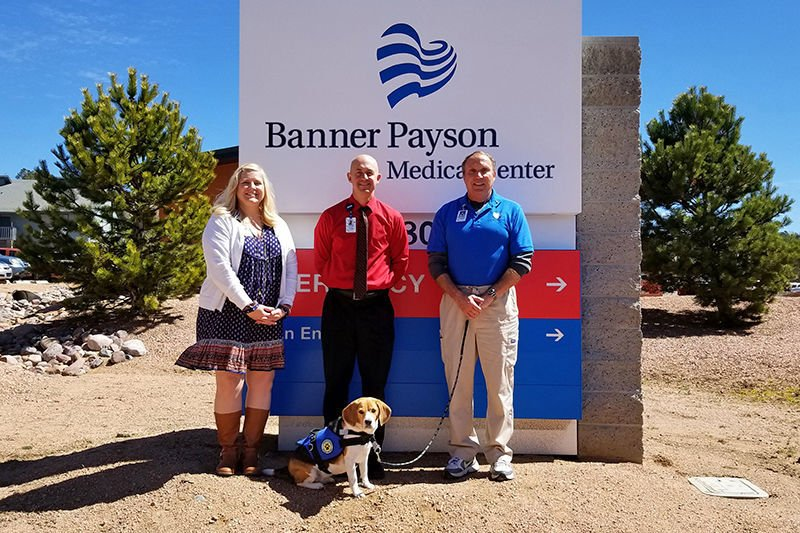 Banner Payson Medical Center Pet Therapy Program