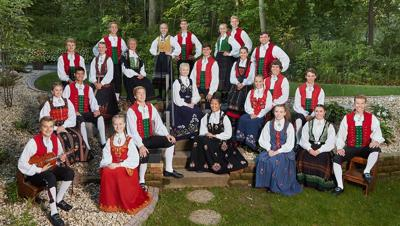 Norwegian dancers in Payson