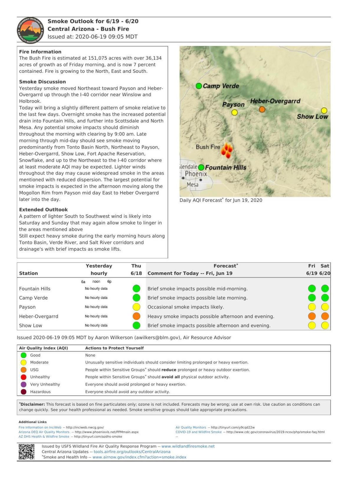 June 19 smoke report