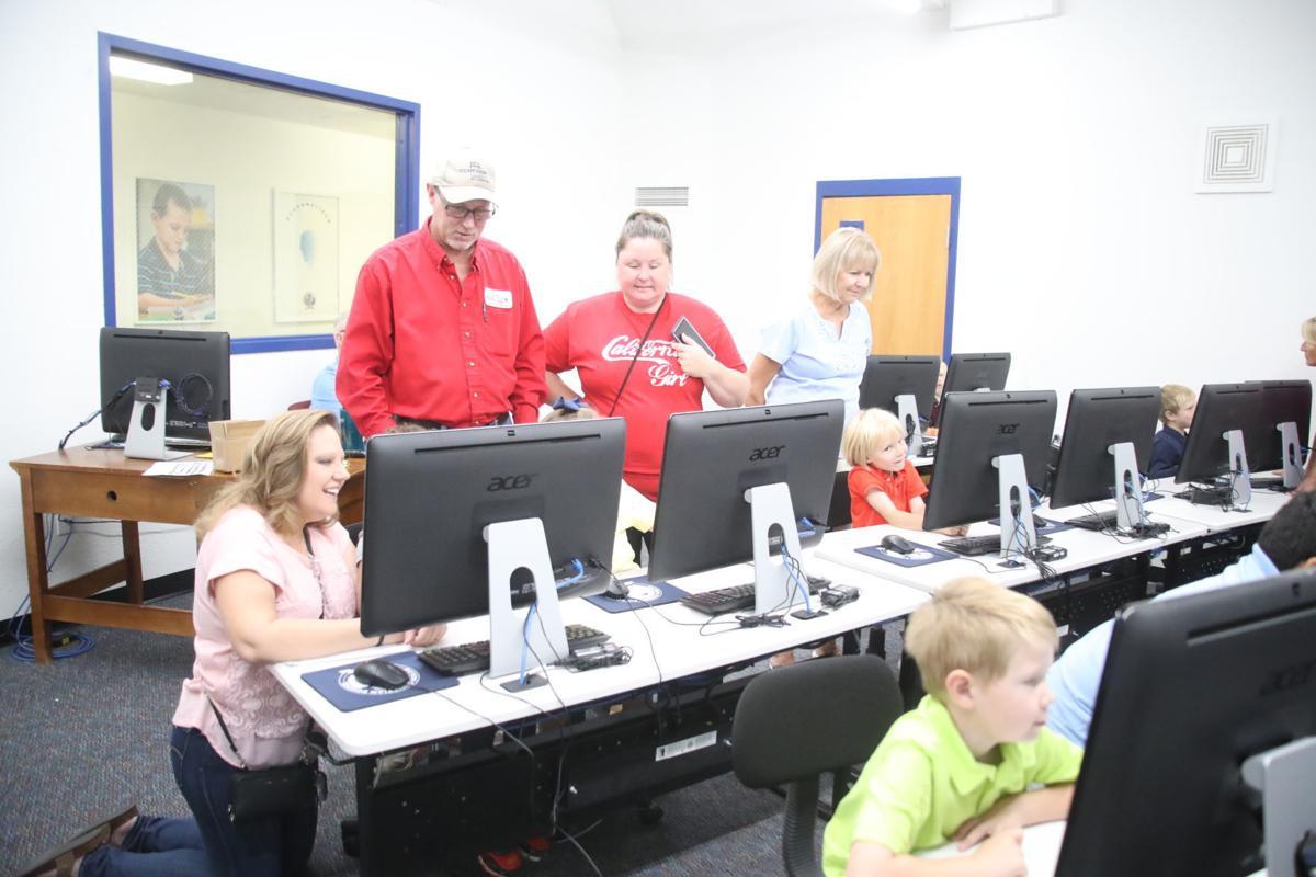 PCS Grandparents Day-Computers