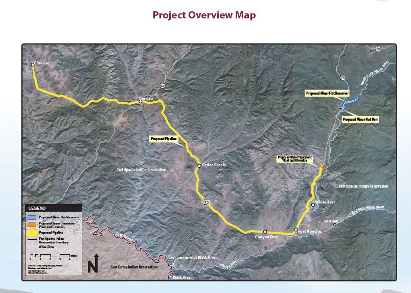 Apache Water Settlement plan