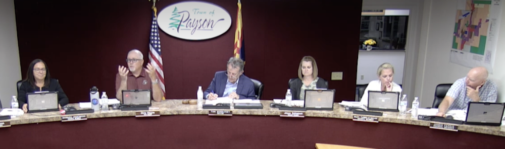 Chris Higgins makes a comment about water rate increase June 10, 2021
