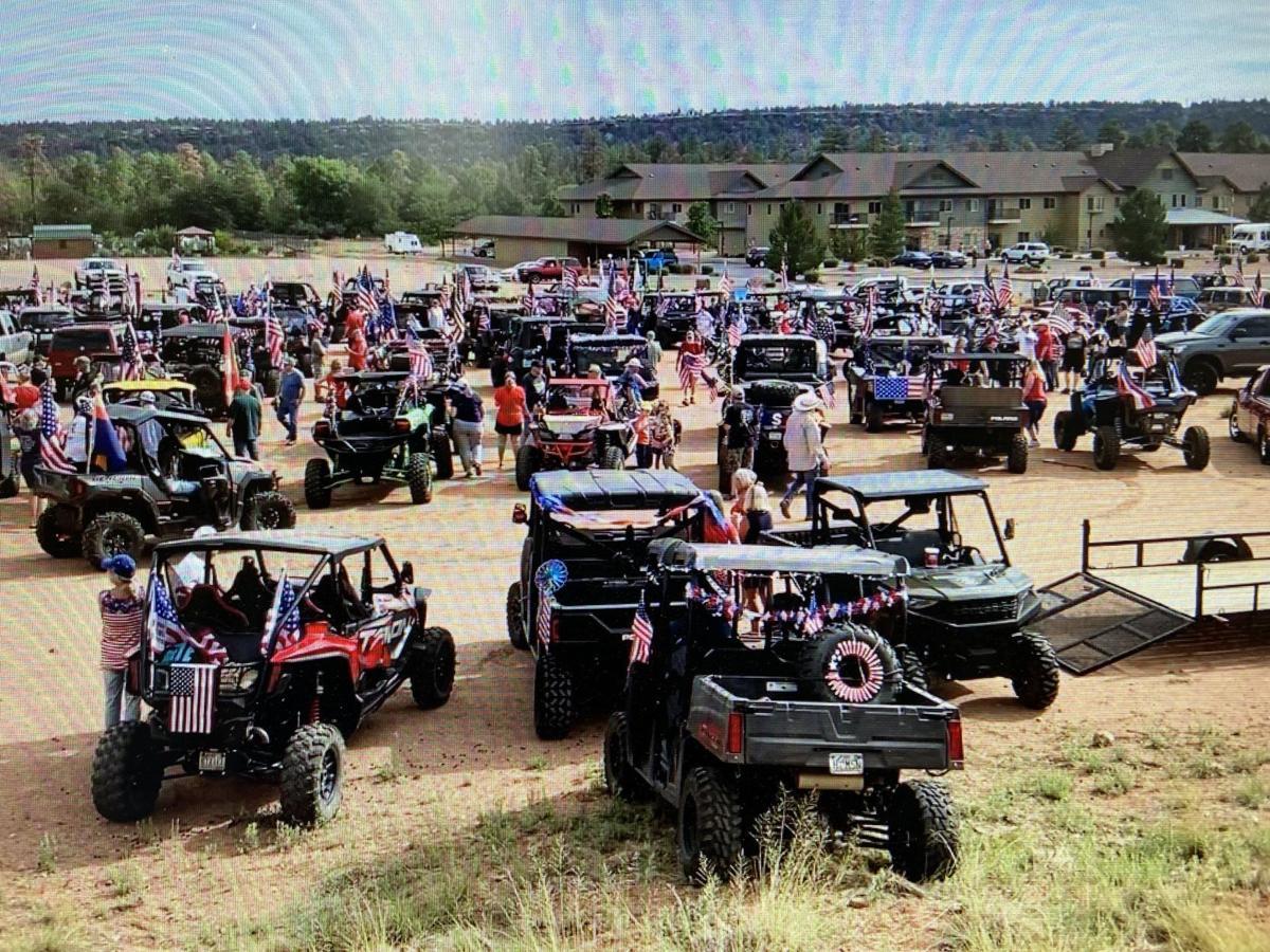 Patriot Parade draws more than 100 entries