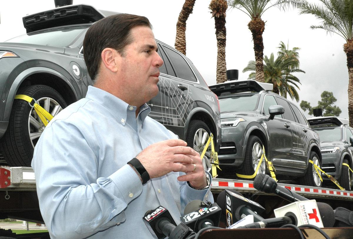 Gov. Ducey and uber