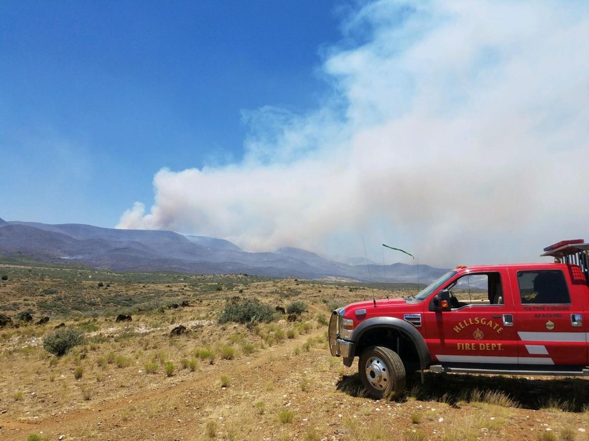 Hellsgate engine at Prescott's Goodwin Fire