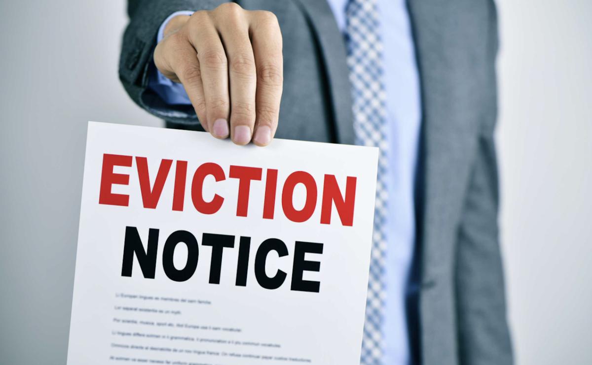 Eviction notice clip art