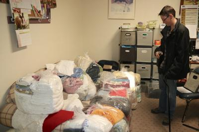 Laundry at the Payson Homeless and Homeless Veterans Initiative Warming Center