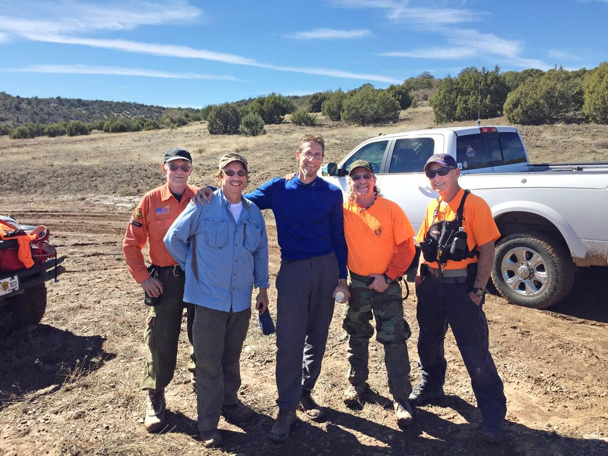 Arizona gila county pine - Missing Man With Rescuers