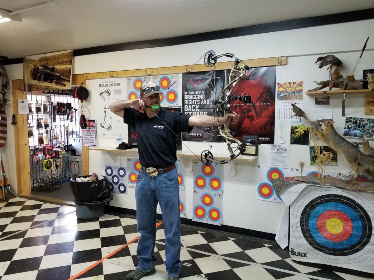 Jeremy Ulmer Archery Practice