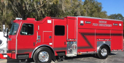 Payson's new fire engine