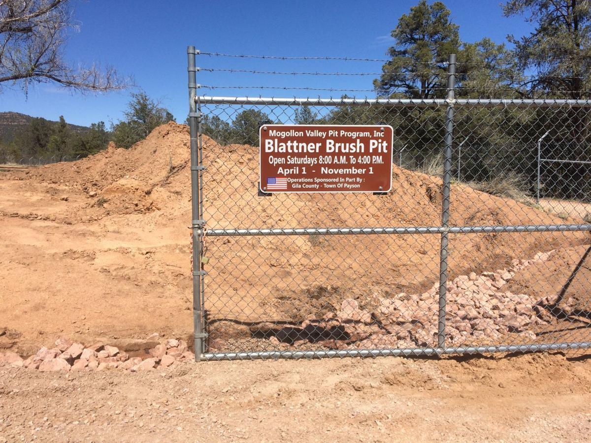 Brush pits open for season   News   paysonroundup com