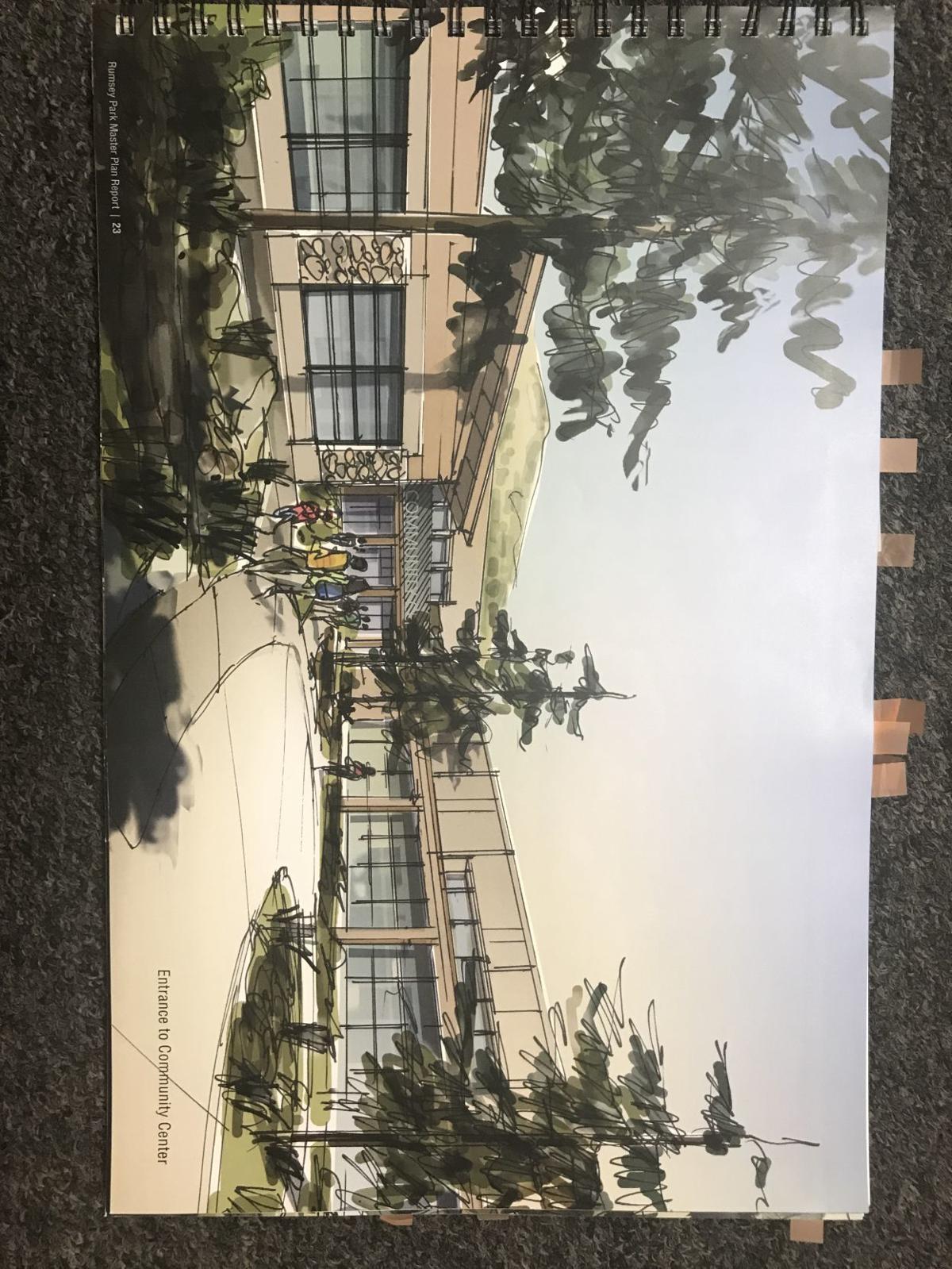 Proposed Community Center for MHA Foundaiton