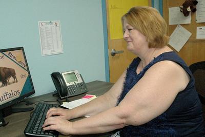 Kathlene Thomson, new district superintendent/principal at Pine-Strawberry School