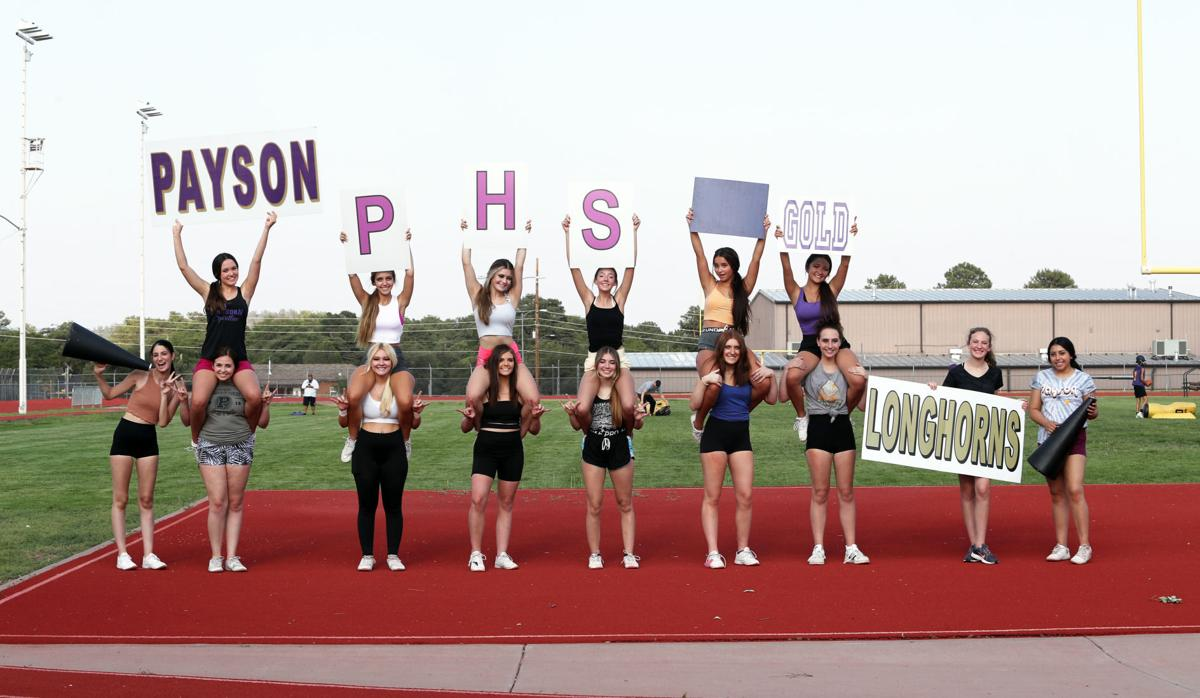Cheer Team With Signs