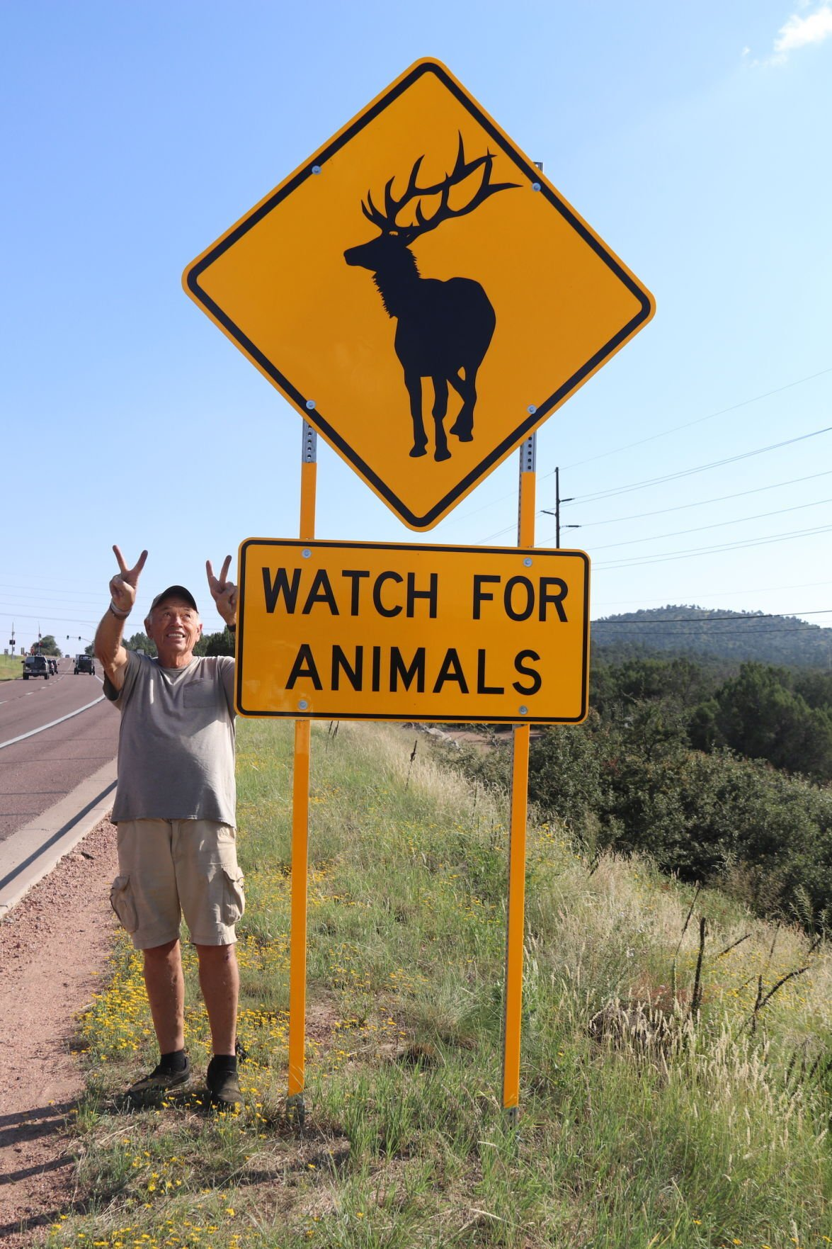 Watch for Animal signs and Stan Wilkenson vertical