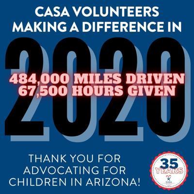 CASA volunteers