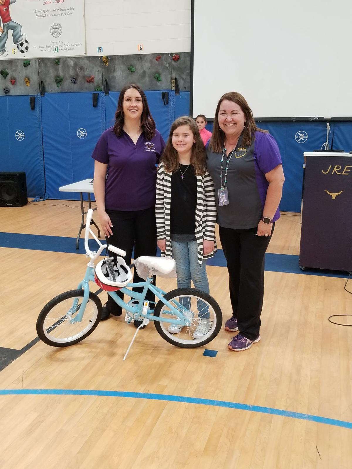 JRE Bicycle Safety Assembly bike winner - Sophia