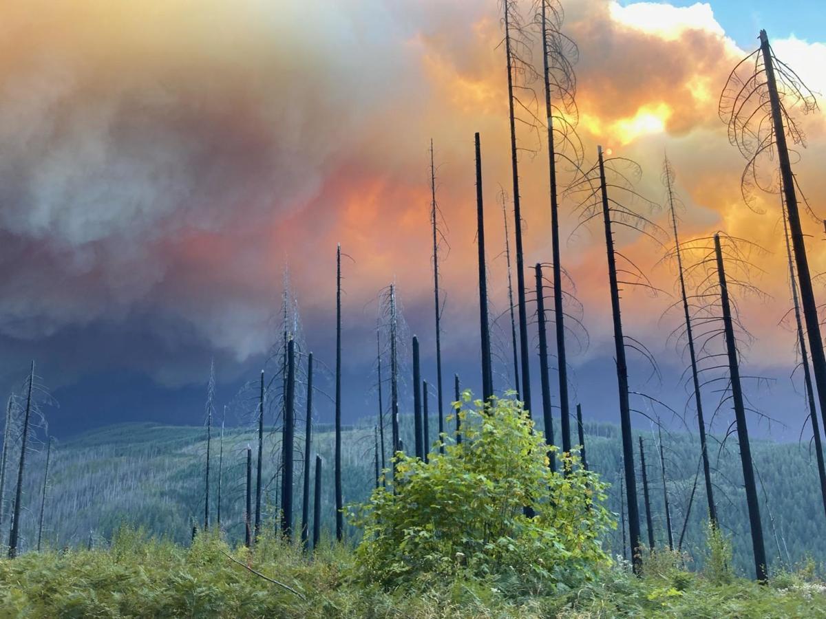 Riverside Fire in Oregon