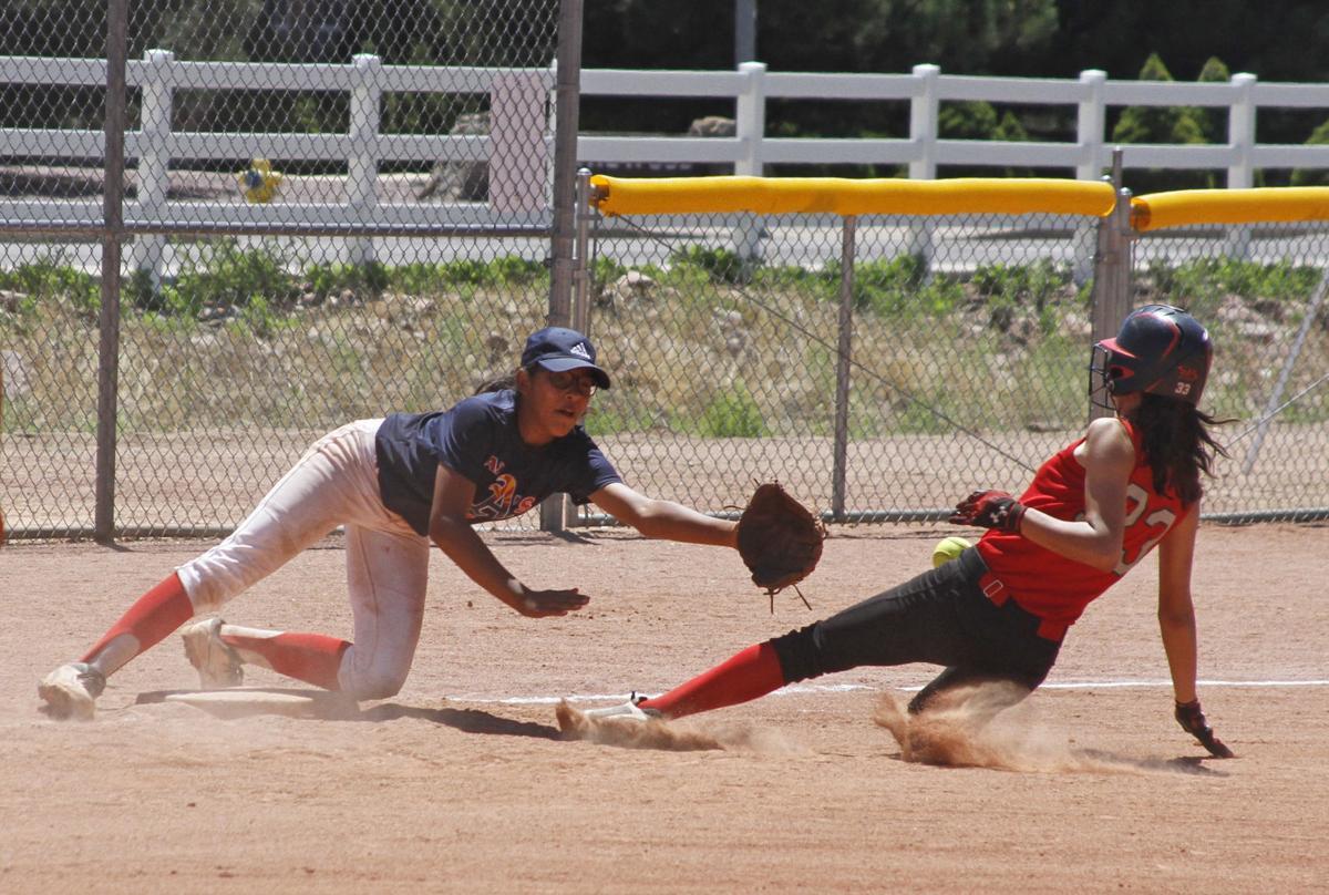Softball Play At Third