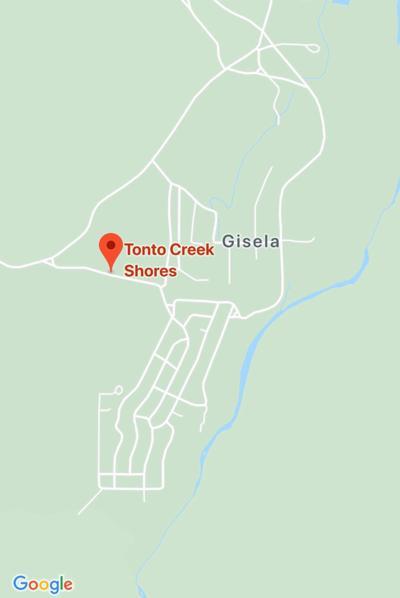 Map of Tonto Creek drowning Dec. 9, 2019