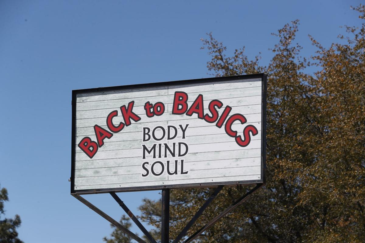 Back to Basics sign