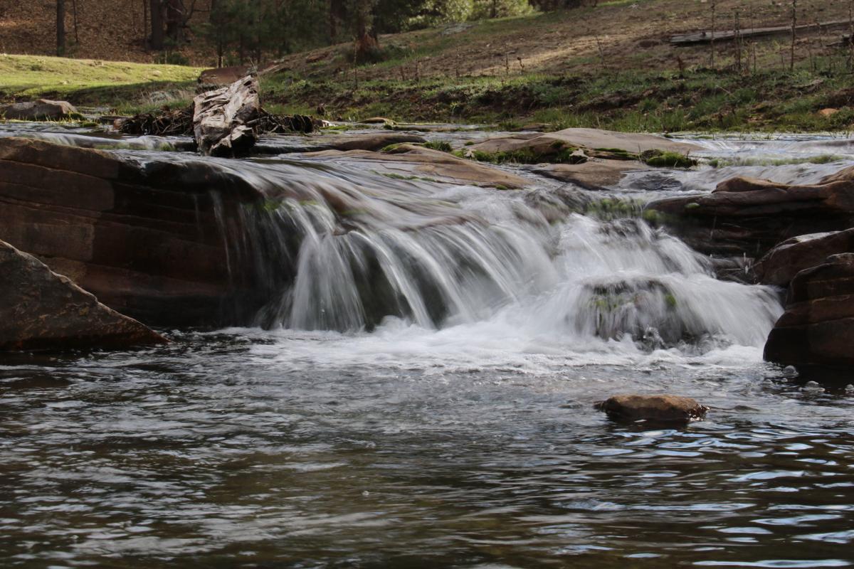 End of story creek shot - Clover Creek spillover