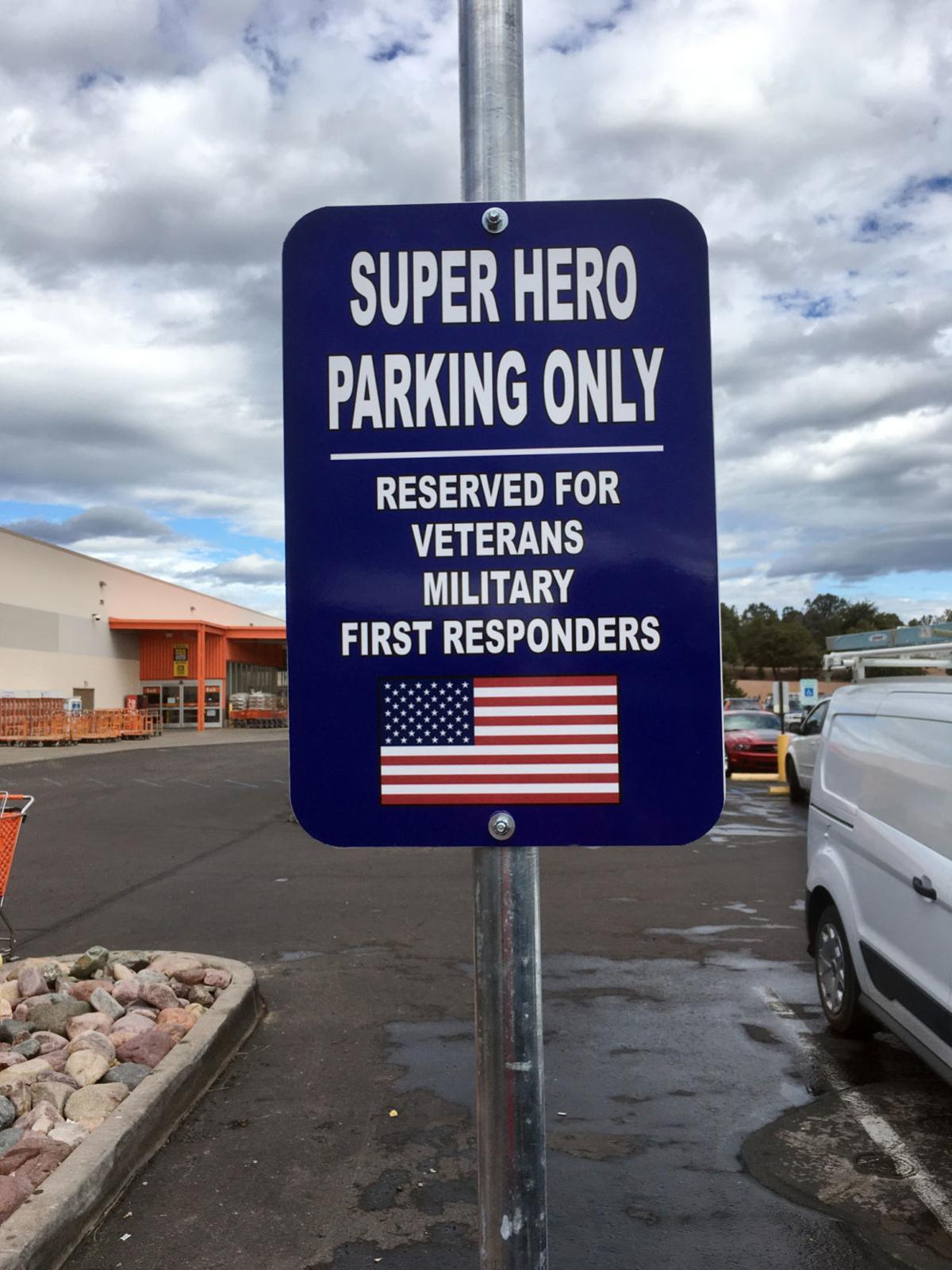 Vet parking home depot