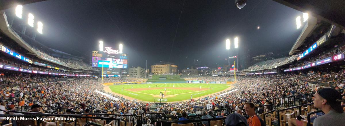 Comerica Park Wide with watermark