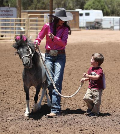 Special Needs Rodeo 2018 Boy and Horse
