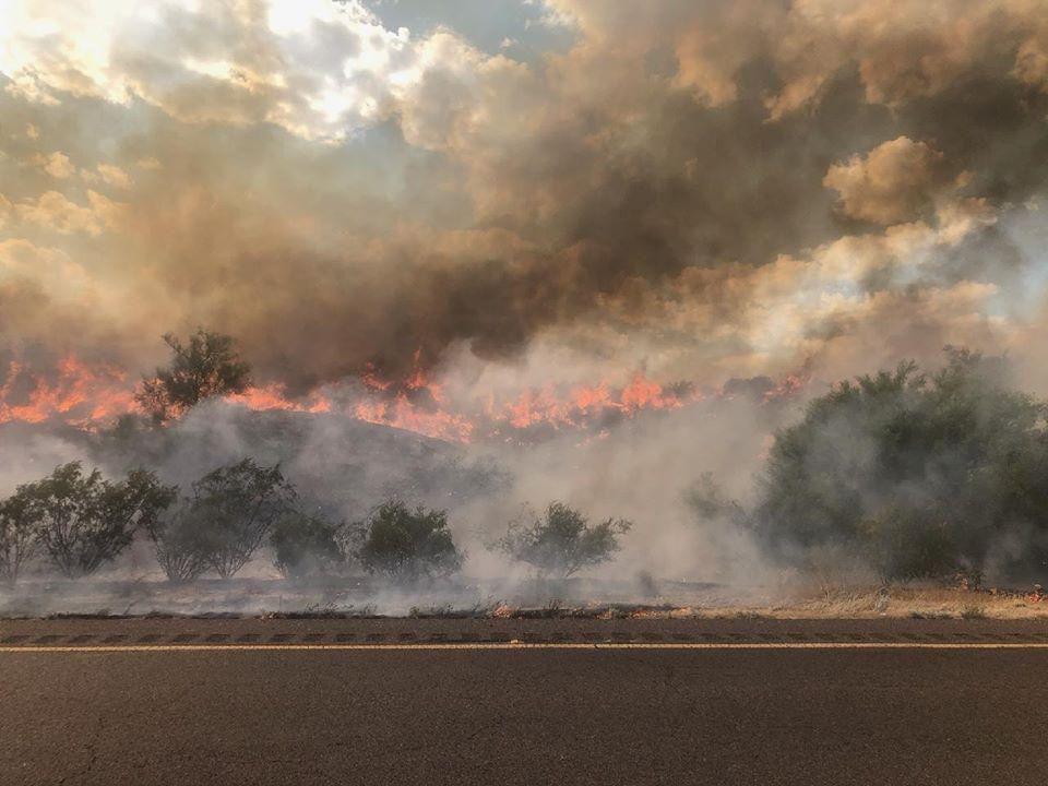 Bush Fire inferno
