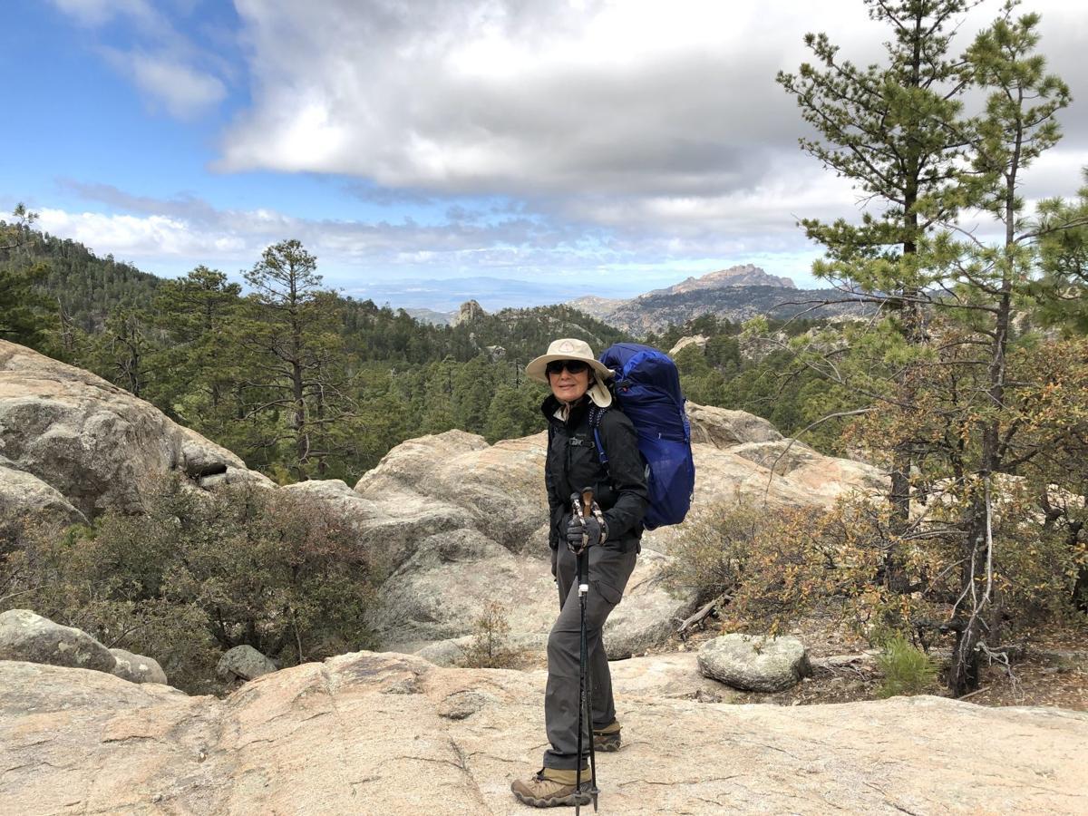 Felica French on Arizona Trail