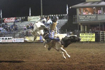 Cody Strite Riding Bull