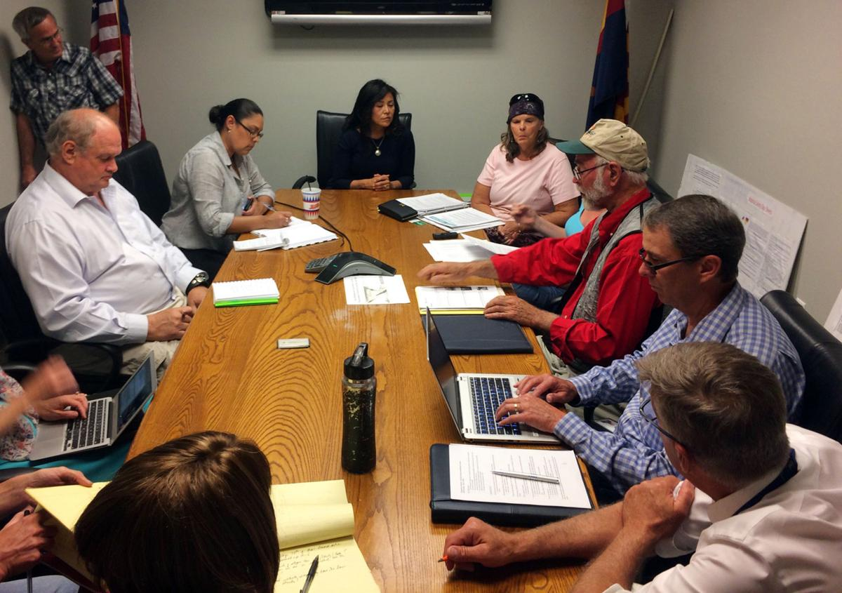 Navajo County Supervisor Fracking Meeting